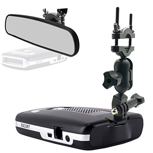 AccessoryBasics Car Rear View Mirror Radar Detector Mount for Escort Max/Max 2 / Max IIRequire 1' stem Space to Install (NOT Compatible with MAX360C / Max360 or New MAX3 w/Magnetic Dock Radar)