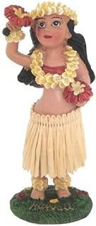Hawaiian Dashboard Dancing Hula Girl Doll with Uli Uli