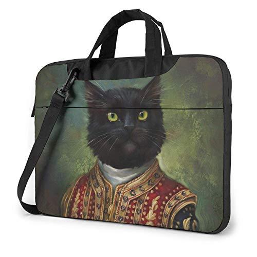 Eldar Zakirov Cats laptoptas schoudertas voor 15,6 inch laptops, met schouderriem