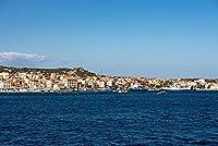 イタリアラマッダレーナ、オルビア-テンピオ、サルデーニャ海の船CoastAdultパズル子供1000ピース木製パズルゲームギフト家の装飾特別な旅行のお土産