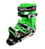 Envy Ski Boot Frame - Comfortable Ski Boots (Green, Large)