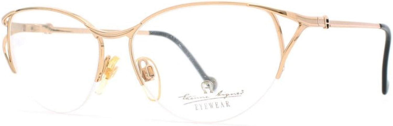 Etienne Aigner 208 30 gold Authentic Women Vintage Eyeglasses Frame