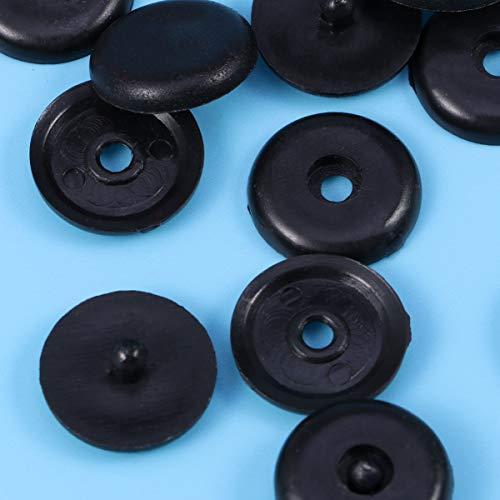 VOSAREA Sicherheitsgurt-Stoppknöpfe mit rutschfester Schnalle