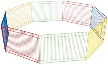 Prevue 13 Inch Products Multi-Color Small Pet Playpen