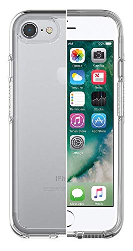 OtterBox Symmetry clear hoch-transparente sturzsichere Schutzhülle für iPhone 7/8/SE (2020), transparent