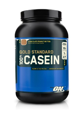 Gold Standard 100 Premium Micellar Casein Protein Chocolate Peanut Butter (2 Lbs. / 26 Servings)