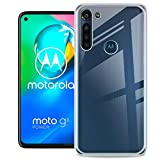 QULLOO Custodia Motorola G8 Power Cover, Custodia Trasparente Morbida TPU [Ultra Leggere e...