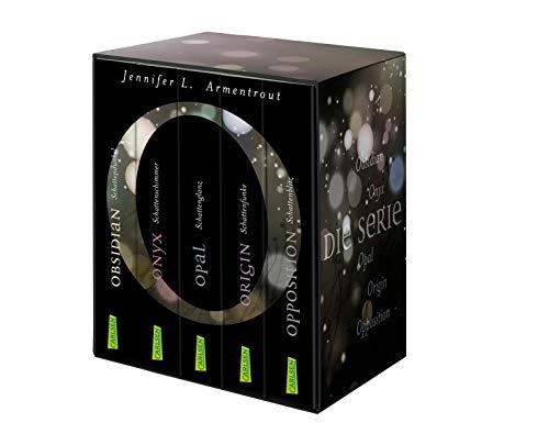 Obsidian: Alle fünf Bände im Schuber: Fantasy-Romance über eine große Liebe, die nicht von dieser Welt ist. Knisternd, dramatisch, gefährlich!
