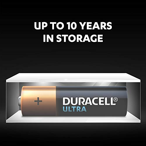 Duracell Ultra AA Alkaline Batteries, 1.5 V LR06 MX1500, Pack of 8