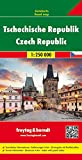 Czech Republic, Road and Travel Map, 1:250,000 (AUTO KARTE)