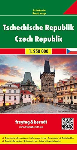Tschechische Republik, Autokarte 1:250.000: Wegenkaart 1:250 000