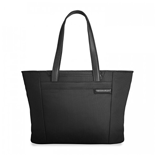 Briggs & Riley Baseline-Large Shopping Tote Bag, Black, One Size