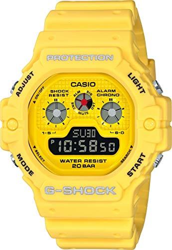 Casio Herren Digital Quarz Uhr mit Harz Armband DW-5900RS-9ER