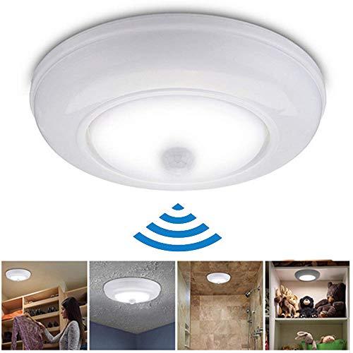 Smart Home Sensor-verlichting, automatische infrarood plafondlamp, draadloos, voor slaapkamer, hal, kamer, super helder nachtlampje