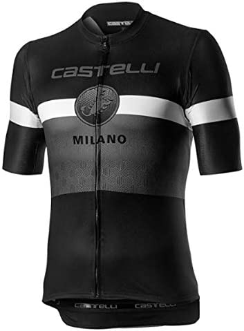 Castelli Men s Milano Bike Jersey Black XX Large product image