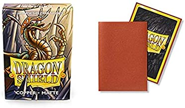 Dragon Shield Matte Mini Japanese Copper 60 ct Card Sleeves Individual Pack
