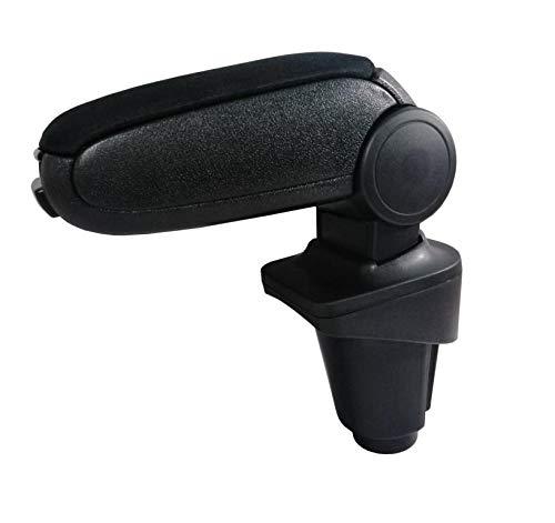 Flexzon, Bracciolo per auto + set di montaggio in tessuto nero