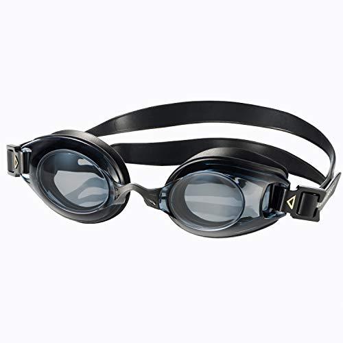 Aqua Speed Lumina optische Schwimmbrille mit Sehstärke für Damen und Herren mit verstellbarem Gurt : linkes & rechtes Glas unterschiedlich nach Ihren Wünschen wählbar/schwarz - getönt