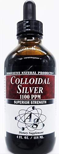 Colloidal Silver 1100 PPM (4 oz)