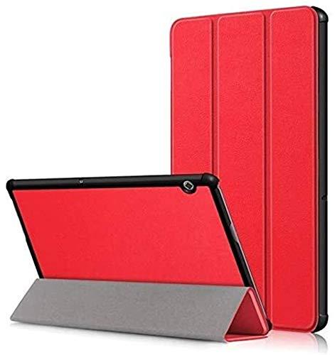 ZRH Accesorios De Pestañas para Huawei MediaPad T5 10.1 Pulgadas, Tableta De Cuerpo Completo para Huawei Honor Tablet 5 (Color : Red, Size : Huawei T5 10.1 Inch)