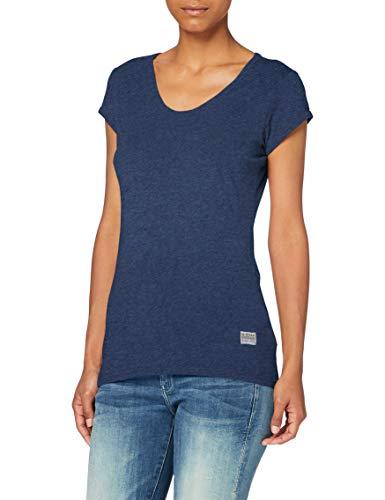 G-STAR RAW Womens Core Eyben Slim T-Shirt, Worn in Kobalt Htr 4107-C102, M