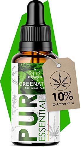*NEU* Original GreeNature® Premium Essential Natur Öl I Hanfsamenöl 1000mg Hanf Terpene I Vegan und natürliche Inhaltsstoffe I Neutrale Lieferverpackung