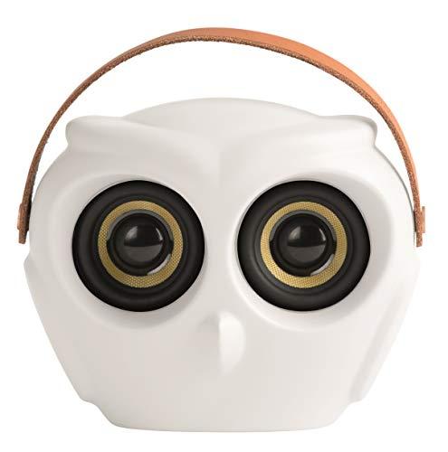 KREAFUNK aOWL Bluetooth-Lautsprecher, weiß
