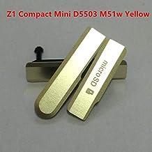 KINGCOM-أغطية الهاتف المحمول وإطارات- غطاء مدخل مدخل مدخل USB خلفي S I M Card Micro SD لهاتف Sony Xperia Z1 Compact z3 z2 z1 z1mini D5503 مقاوم للغبار (أصفر)