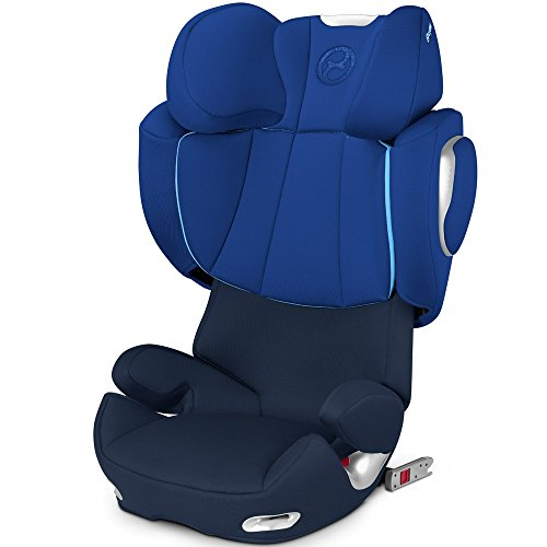 Cybex siège auto Solution Q2-fix Flexi-Fix – Royal Blue – Modèle 2016