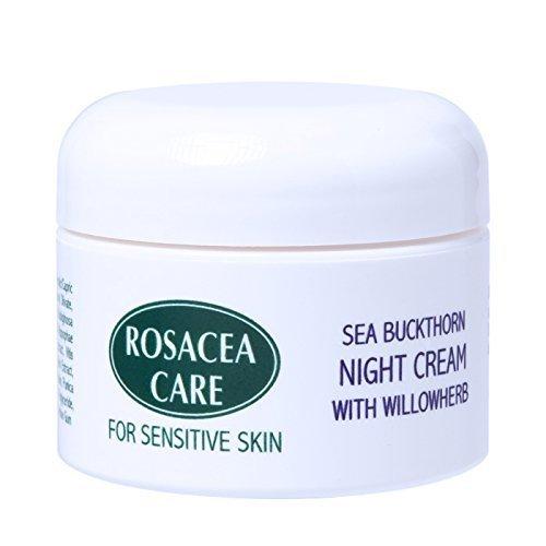 Rosacea Care Night Cream - Nourishing, deep moisturizer for rosacea skin (1 Oz)