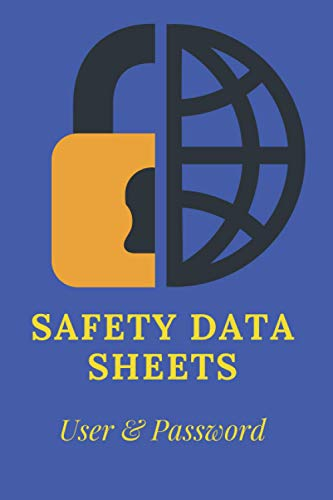 Safety Data sheets, can't be hacked: Sustainable Data / Journal Book / Matte Finish / Size 6x9 / White Paper Interior / 50 Pages