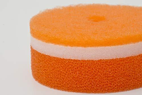 マーナ(MARNA)POCO(ポコ)キッチンスポンジオレンジ吸盤付きK096O