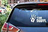 Auto Aufkleber Auto Aufkleber 17.8 Cm * 9.4 Cm Team Daryl Zombie Hand Aufkleber Aufkleber Walking Dead Vinyl Aufkleber Styling Dekoration