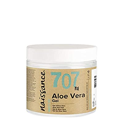 Naissance Aloe Vera Gel (no. 707) 200g - Cruelty Free and Vegan - Cooling, Soothing and Moisturising for All Skin Types