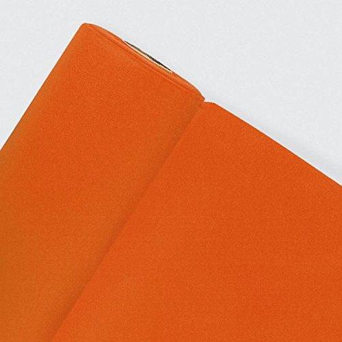 Fêter et recevoir Nappe INTISSÉE Orange 25 X 1.20 M