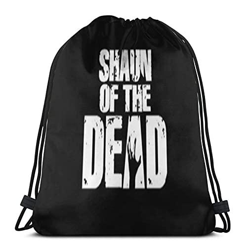 Shaun Of The Dead Logo - Borsa con coulisse per sport e palestra, borsa per riporre la borsa classica a fascio, per feste o feste
