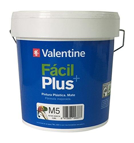 Cin Valentine 0370006 Pintura acuosa estireno acrílica (mediano), Blanco