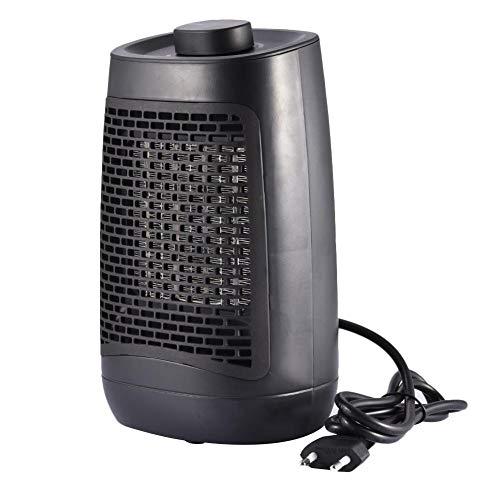 Radiador soplador de cerámica mini calefactor eléctrico portátil 1200 W calefactor de cerámica PTC para salón, dormitorio y oficina, con protección contra sobrecalentamiento