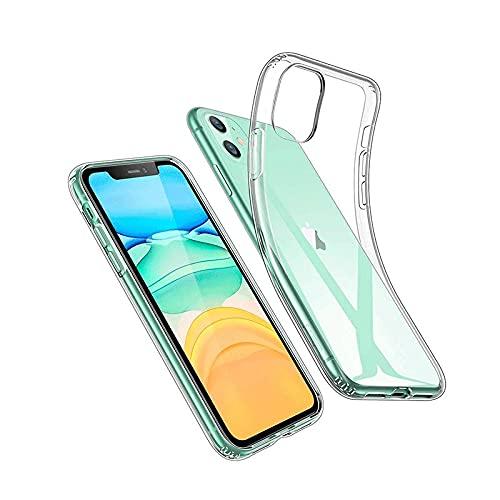 Funda iPhone 11 , Funda trasnparente , Funda Resistente a caidas