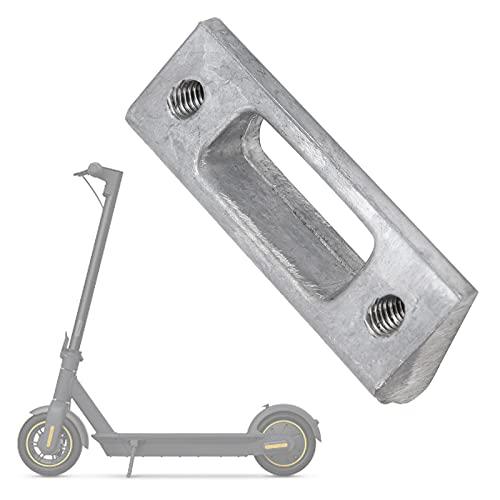 Soporte de patín para scooter Bloque fijo de metal, fácil de usar Repuestos de piezas de reparación Accesorios Funciones completas Fácil de instalar para rosca de tornillo M5