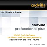 Architektur 2D/3D CAD Software / Programm zur Hausplanung