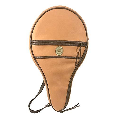 HAB Camel 01. Funda de Raqueta de pádel de Piel auténtica