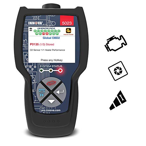 Innova 5023 Pro CarScan Code Reader for OBD2 with Freeze Frame