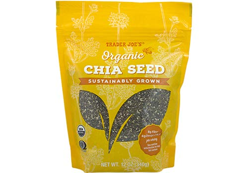 Trader Joes Organic Chia Seeds 12 oz (Pack of 3)
