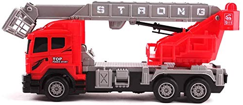 RC Auto kaufen Feuerwehr Bild 4: deAO funkgesteuertes Feuerwehrauto; Truck mit Kanälen- Voll funktionsfähiges Fahrzeug mit Fernbedienung*