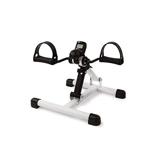 AFH-Webshop Mini-Bike | Armtrainer und Beintrainer | Heimtrainer | Pedaltrainer mit Pedometer Display