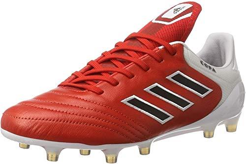 adidas Copa 17.1 FG, Botas de Fútbol Hombre, Rojo (Rosso Rojo/negbas/ftwbla), 41 1/3 EU