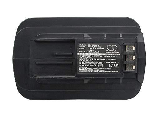 Replacement Battery for Festool model, fits Part No C15 Cordless Drill/Driver, DRC15 Cordless Drill/Driver, FLC Uni LED Cordless Flashlight Light 14.4V Li-ion 3000mAh/43.20Wh