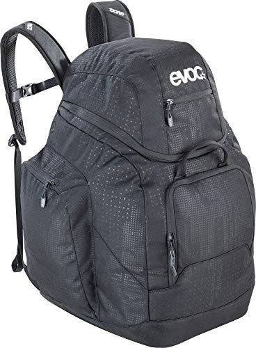 evoc Boot Helmet Backpack 60l, Skischuh und Helm Transport Tasche Sac Chaussures de Ski et Casque Mixte, Noir, One(35x35x56cm)