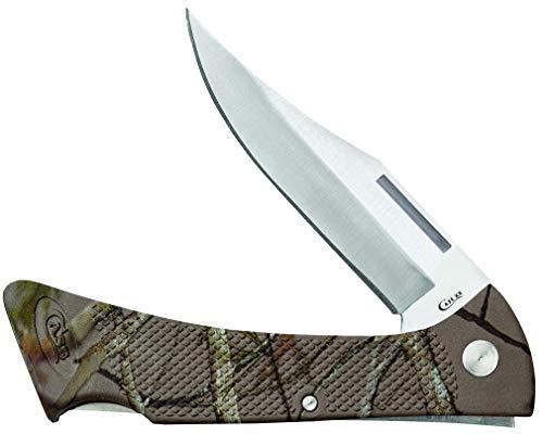 CASE XX WR Pocket Knife Camo Caliber Zytel Mako Item #18334 - (Lt158L SS) - Length: 4 1/4 Inches